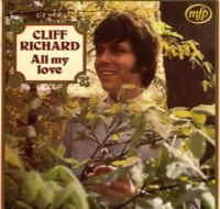 Cliff Richard - All My Love (MFP 1420) M-/M-